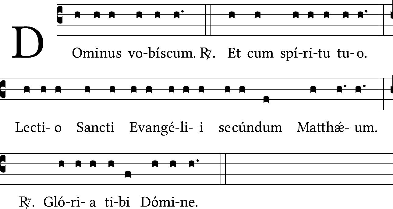 ... Evangelii secundum...